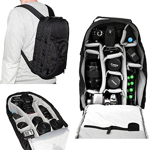 7dayshop-Photographers-Backpack-Rucksack-Camera-Bag-for-DSLR-Cameras-Incl-Canon-EOS-and-Nikon-0
