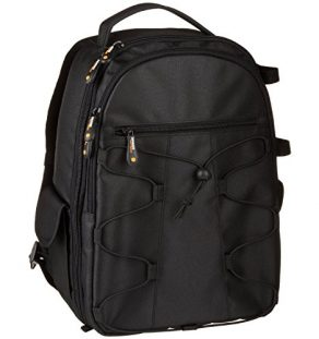 AmazonBasics-Backpack-for-SLR-Cameras-and-Accessories-Black-0