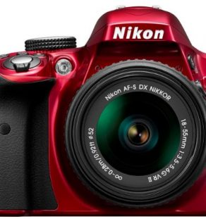 Nikon-D3300-Digital-SLR-Camera-with-18-55mm-VR-II-Lens-Kit-Red-242MP-30-inch-LCD-Screen-0-3