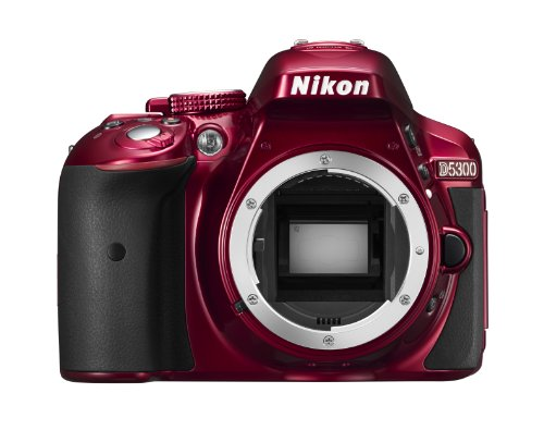 Nikon-D5300-Digital-SLR-Camera-Body-Only-Red-242-MP-32-inch-LCD-with-Wi-Fi-and-GPS-0-3