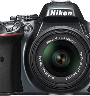 Nikon-D5300-Digital-SLR-with-18-55mm-VR-II-Compact-Lens-Kit-Grey-242-MP-32-inch-LCD-0-0