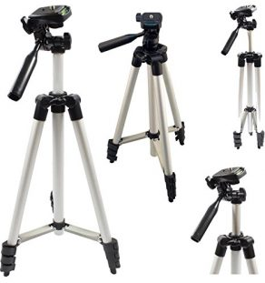 Safekom-Universal-50-Portable-Camera-Camcorder-Tripod-Stand-with-Carry-Case-360-Degrees-0-4